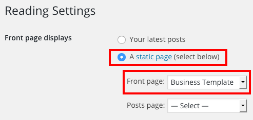 business-page-set-up