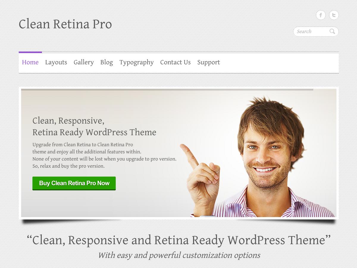Clean Retina Pro
