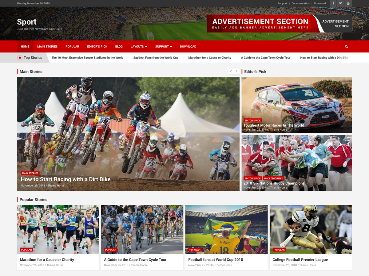 NewsCard Sport